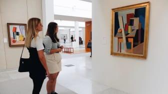Observation af publikum på Kunsten, Museum of Modern Art, Aalborg 2020, foto: Seismonaut
