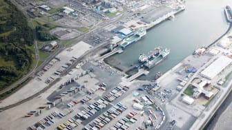 Port of Heysham awarded to Hogia the contract to supply a terminal operating system. Photo: Peel Ports Group.