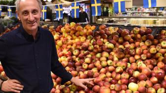 Hållbart och lokalt är viktigt för ICA Supermarket Fäladstorget. Träffa Michal Wieloch ICA-handlare i Lund.