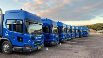 10 gasdrevne renovationslastbiler til Urbaser og ProjectZero