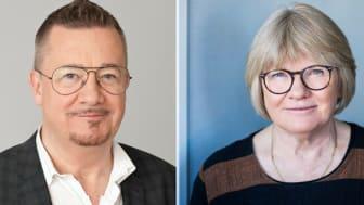Örjan Brinkman, ordförande Sveriges konsumenter och Elisabeth Wallenius, ordförande Funktionsrätt Sverige