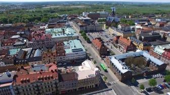 Syftet med projektet En levande stadskärna är att maximera förutsättningarna för en attraktiv och levande stadskärna också i framtiden.