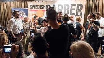 Årets barberare och Sveriges snyggaste skägg koras på scen på World Beard Day