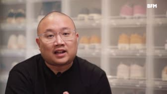 Bryan Chin of SneakerLah in an interview with BFM