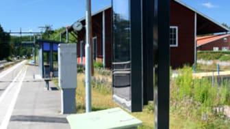 Ny ljusstark LCD-skylt för utomhusbruk i solbelyst miljö