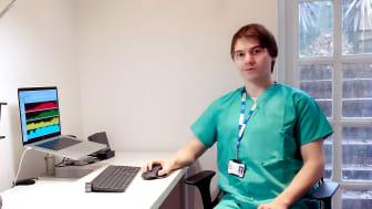 Kei Landin forskar vid den neurokirurgiska enheten på universitetssjukhuset i Cambridge. (Foto: Mika Nakanishi)