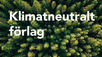 Natur & Kultur är Sveriges första klimatneutrala bokförlag