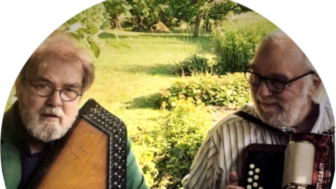 Thomas Lundkvist och Fred Lane.