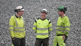 Fra venstre: Rune Kvam Vingen, Jonas Øverby og Geir Ivar Lauritzen. Foto: Anja Sønstevold