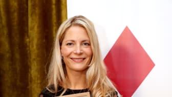 Årets Ruter Dam 2017 och vd NetOnNet, Susanne Ehnbåge