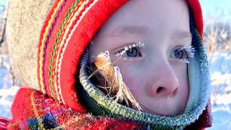 Barn i Sápmi, foto: Malin Skinnar