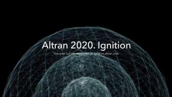 Altran lanserar sin strategiska plan: 'Altran 2020. Ignition'