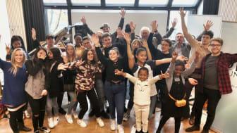 DEIN MÜNCHEN Jazz-Workshop mit Stephanie Lottermoser, Harald Rüschenbaum, dem Bayrischen Landesjugendjazzorchester und Thomas Koenen von because.wir.tun.was. Foto: