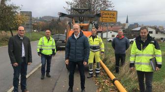 Neues Erdgasnetz für Dalking – Baumaßnahmen beginnen