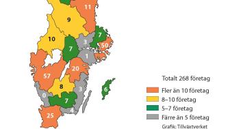Fler sociala företag i landet men stora regionala skillnader