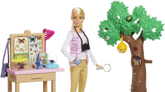 Barbie® x National Geographic Butterfly Scientist Playset, Quelle: Mattel