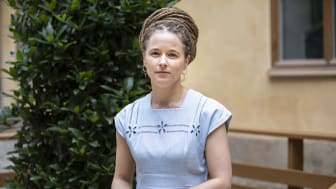 Kultur- och demokratiminister Amanda Lind. Foto: Ninni Andersson/Regeringskansliet