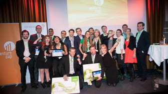 Från forskning till affärsidé. Teamet från Uppsala Universitet vinner entreprenörstävlingen Venture Cup Öst