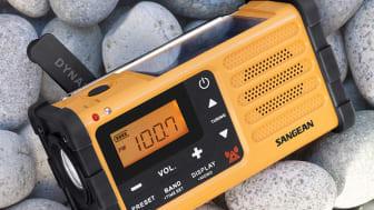 Med överlevnadsradion kan du ta del av viktiga nyheter även om du saknar strömkälla.