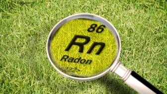 Bestämning av radongashalt i mark.