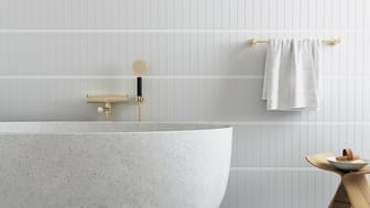 Enhance the design feeling in the bathroom with a new collection of accessories from Mora Armatur.