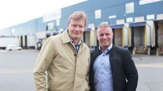 Claes Johansson, Nässjö Näringsliv och Christian Berglund, SLP
