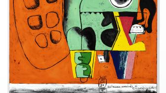 """Le Corbusier: """"20 heures, arrivée à Chandigarh"""" (1951-1959). Hammer price: DKK 1.75 million / € 234,000 (including buyer's premium)"""