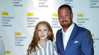 Amanda Lydahl, Årets Kockelev och Oscar Uhrström, Menigo