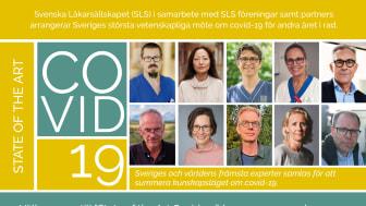 Sveriges och världens ledande experter samlas till Sveriges största vetenskapliga möte om covid-19.