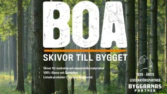 BOA - Bo Andrén AB är utsedda till årets leverantörspartner år 2020!