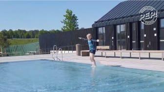 Svensk Simidrott samarbetar för barn och ungas hälsa