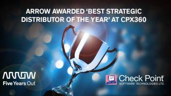 Arrow utsedd till Best Strategic Distributor of the Year på CPX360