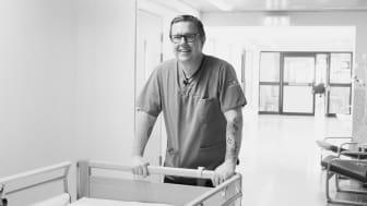 Tomas Vedestig, vårdanställld och även ordförande i socialnämnden i Övertorneå kommun.
