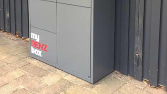 myRENZbox pakkepostanlæg i RAL 7012