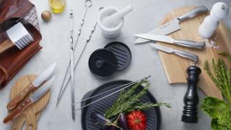 Hållbara köksredskap för alla hem