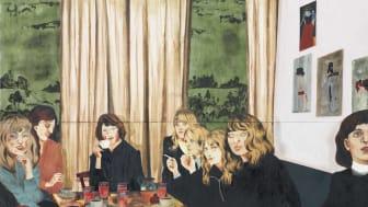 """Verk från utställningen. Mamma Andersson, """"About a girl"""", 2005."""