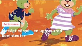Kaninshow med teckenspråk på Liseberg 11 augusti, avd Väst