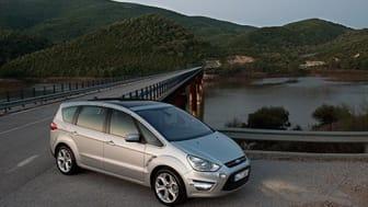 Ford S-MAX holder stand som klar klasseleder blant flerbruksbilene