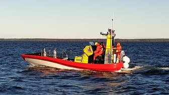 Besättningen på RS Piteå har bekantat sig med båten sedan i höstas.