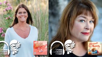 Två Bokfabriken-böcker vidare i Stora Ljudbokspriset