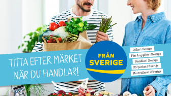 Lätt att välja svenskt, kasse, man kvinna, sparris