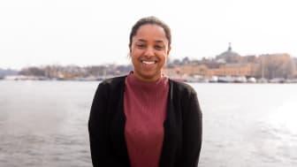 Kompassrosstipendiat 2019, Alexandra Tecle, foto: Nathalie Malic/Stiftelsen Ungt Ledarskap