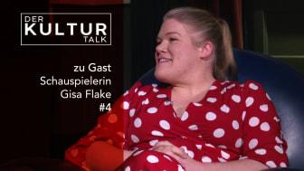 Film und TV Schauspielerin Gisa Flake im Kultur Talk bei Studio Kult TV in Braunschweig