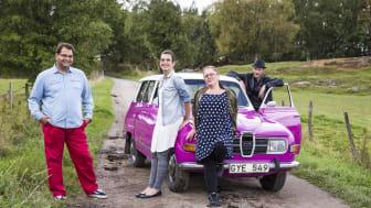 Programledarna Sophia Bergman, Nancy Delic och Sebastian Pawlowski beger sig på roadtrip. Carl-Einar Häckner medverkar med specialskrivna låtar för varje avsnitt.
