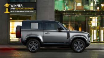 Land Rover Defender kåret til 2021 World Car Design of the Year