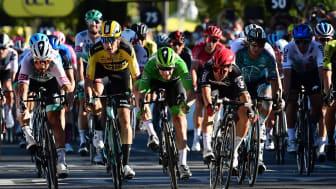 Tour de France - Grand Départ Copenhagen Denmark giver Bygma mulighed for at skabe nogle unikke oplevelser for sine kunder  Foto:  A.S.O. Alex Broadway
