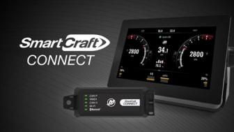 Mercury SmartCraft Connect giver Garmin- og Raymarine skærme adgang til Mercury VesselView