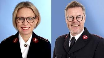 Den 1 augusti tillträder Bo Jeppsson som ledare för Frälsningsarmén Sverige-Lettland och Christina Jeppsson blir ansvarig för kvinnoarbetet.