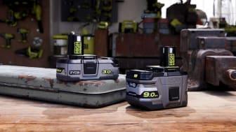 Mer styrka och längre driftstid med HIGH ENERGY-batterierna