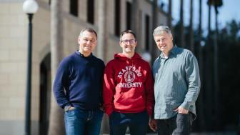 Jonas Spangenberg, VD BoKlok, Jerker Lessing, forsknings- och utvecklingschef BoKlok och Martin Fischer, professor Stanford University.